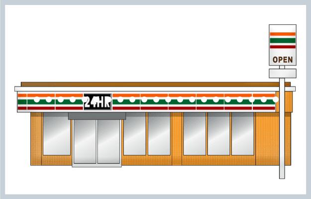 石巻市のコンビニとフランチャイズ